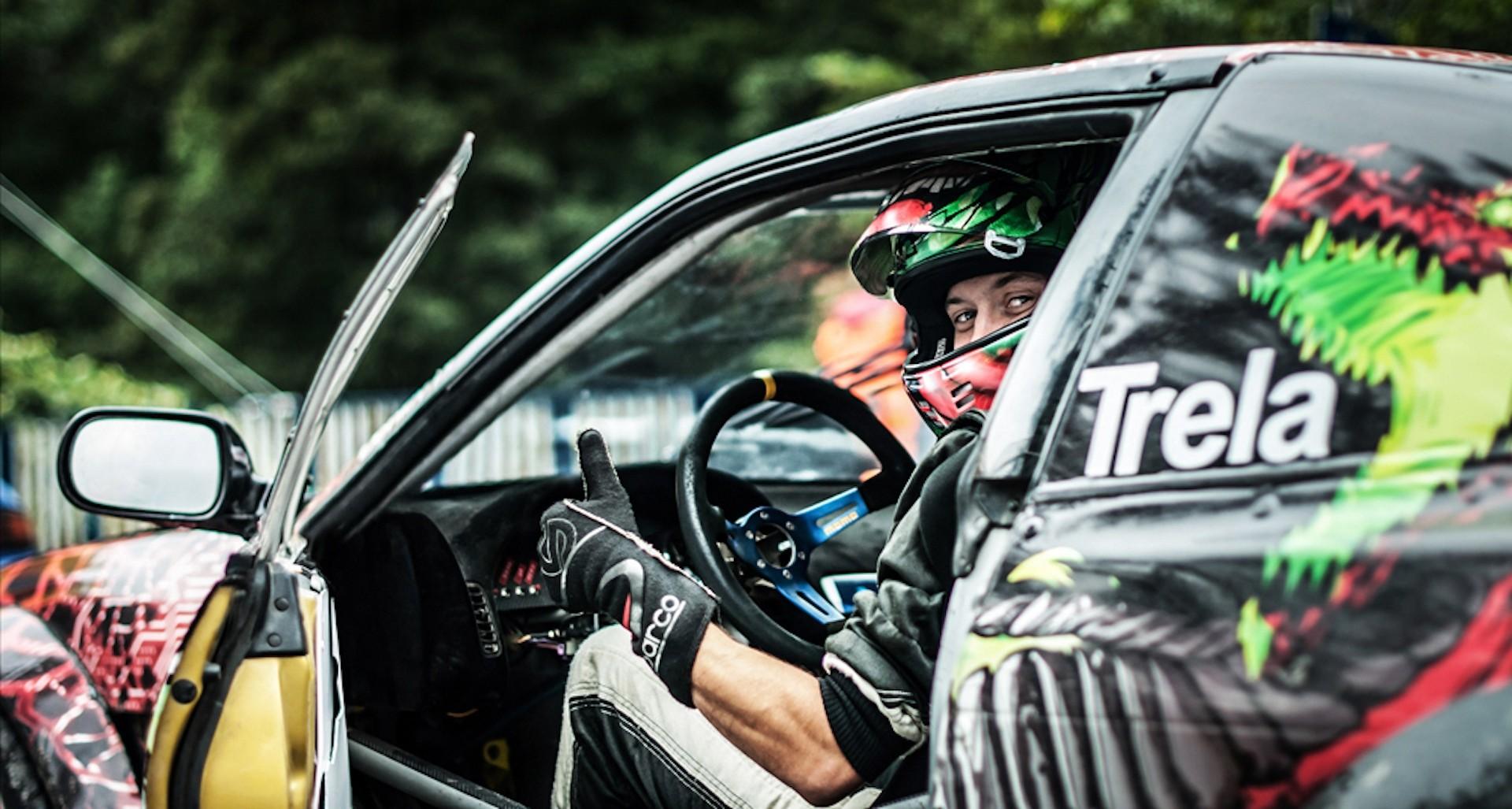 Paweł Trela w Nissanie