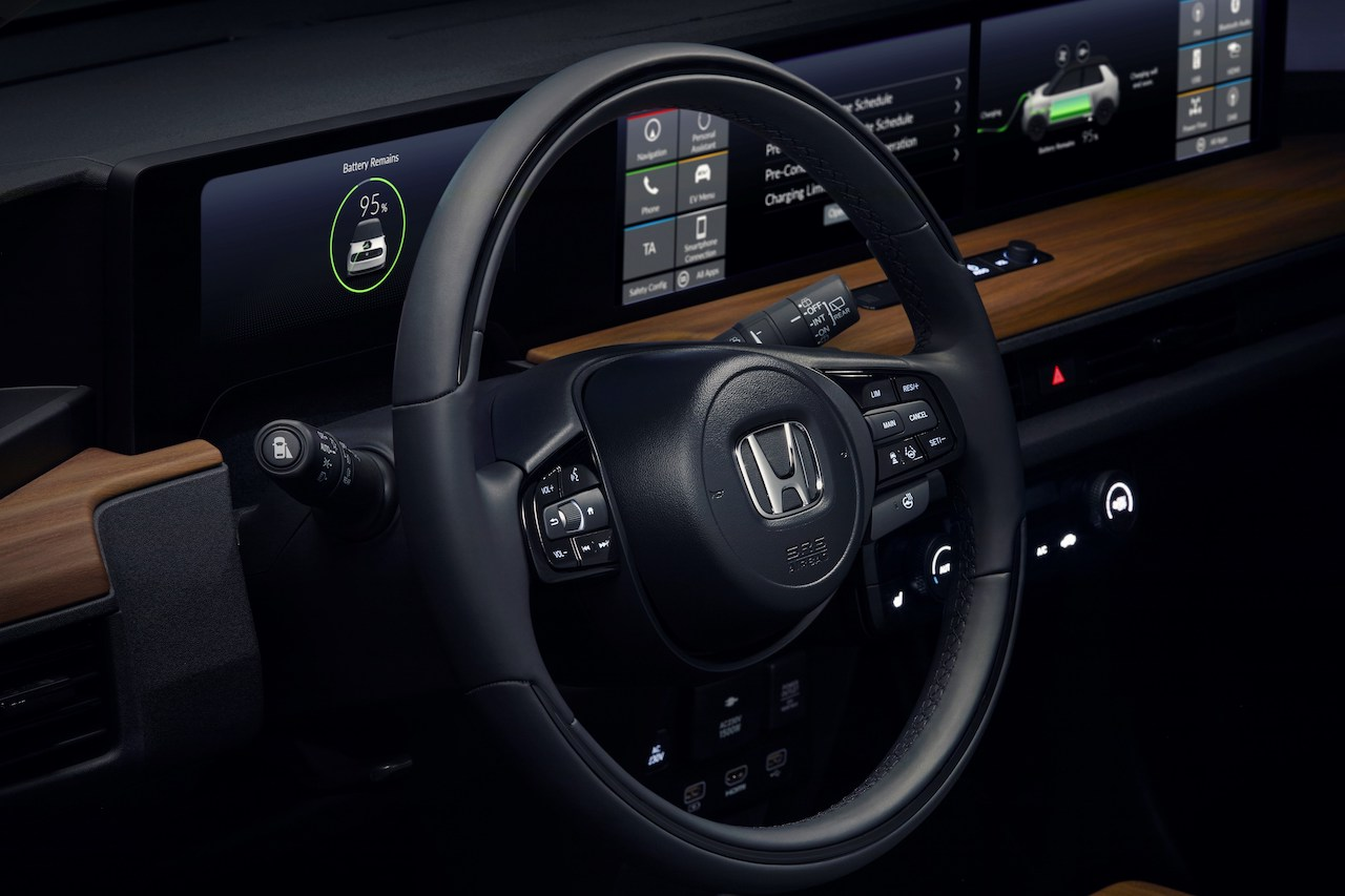 Honda e Prototype wnętrze