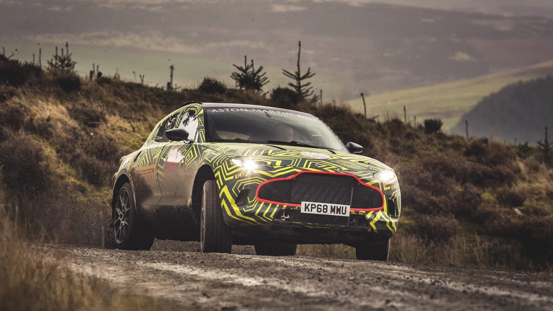 Aston Martin DBX Prototyp