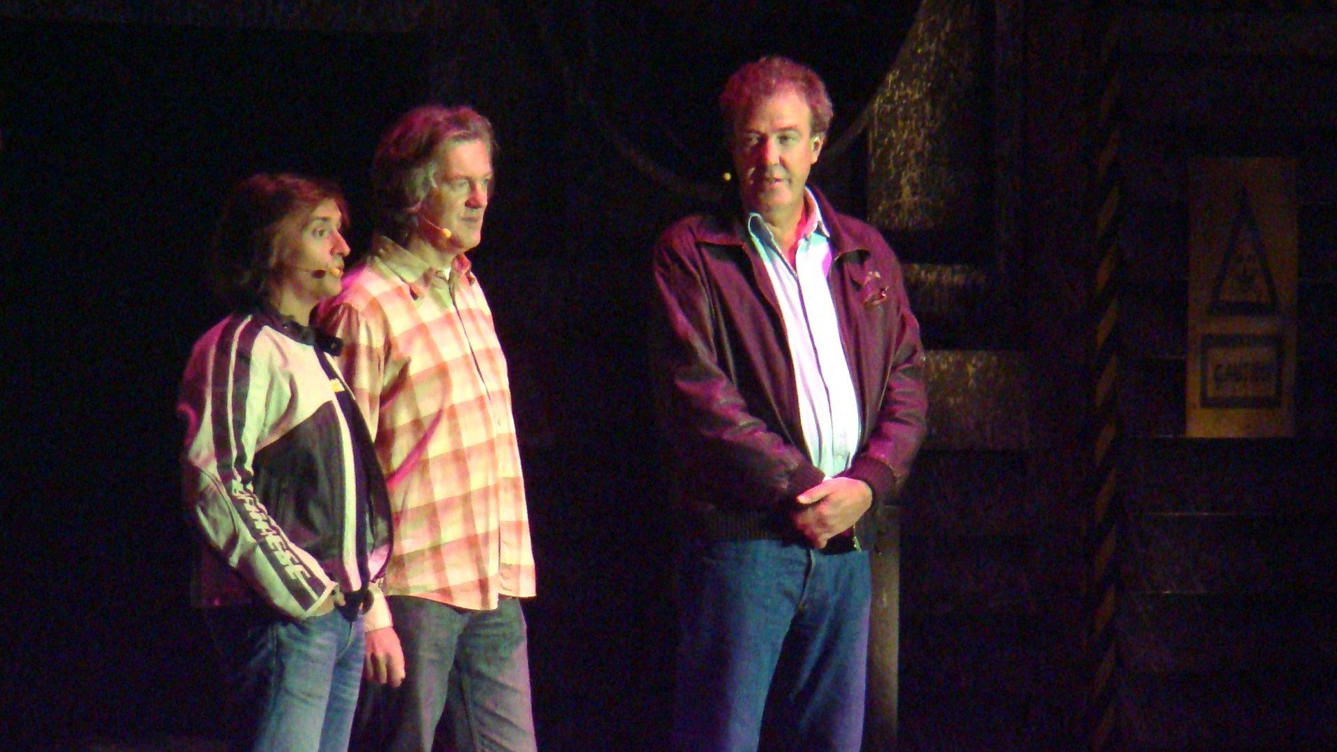 Richar Hammond, James May i Jeremy Clarkson
