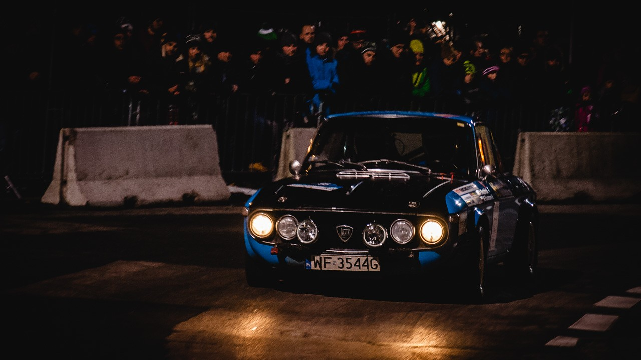 Lancia Fulvia Rajd Barbórka fot. AUTSIDER